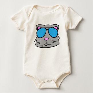 Cool Cat Baby Bodysuit