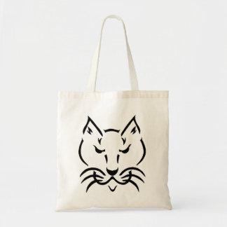 Cool Cat Budget Tote Bag