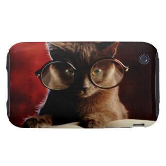 Cool Cat Tough iPhone 3 Case