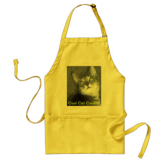 Cool Cat Cookin' Standard Apron