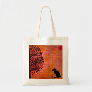 Cool Cat Graphic Tote