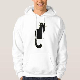 Cool Cat Hoodie Black Cat Hooded Sweatshirt
