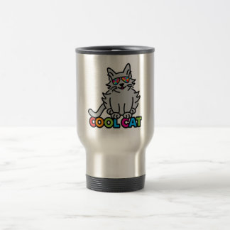 COOL CAT TRAVEL MUG
