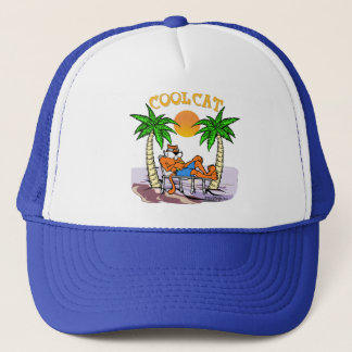 Cool Cat Trucker Hat