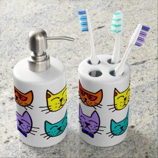 Cool Cats Bathroom Set