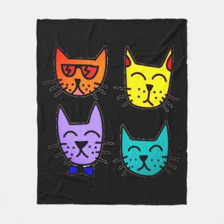 Cool Cats Fleece Blanket