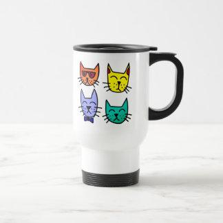 Cool Cats Travel Mug