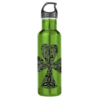 Cool Celtic Clover Leaf  Gym 710 Ml Water Bottle