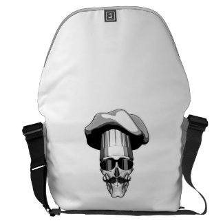 Cool Chef Skull v3 Commuter Bag