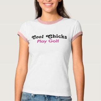Cool Chicks Play golf T Shirts