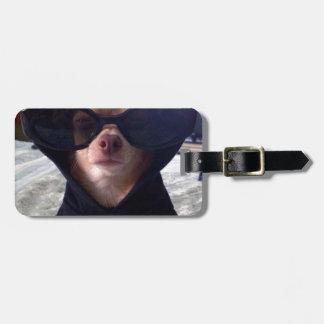 Cool Chihuahua Luggage Tag