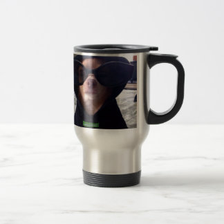 Cool Chihuahua Stainless Steel Travel Mug