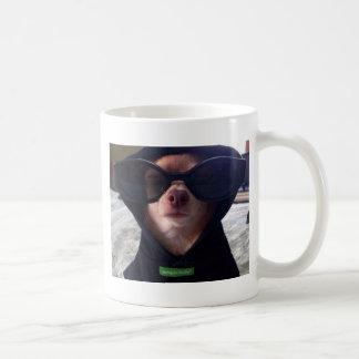 Cool Chihuahua Basic White Mug