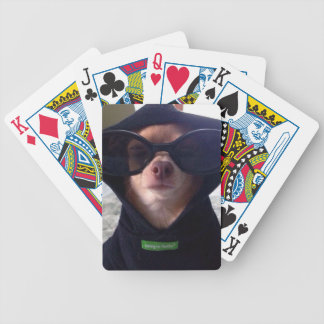 Cool Chihuahua Bicycle Poker Deck