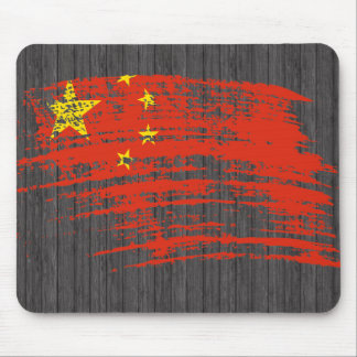 Cool Chinese flag design Mouse Pad