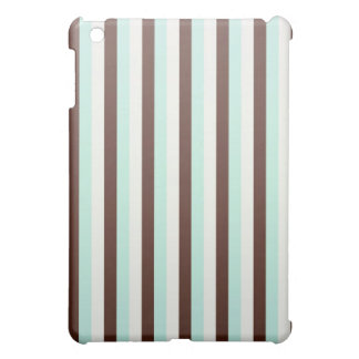 Cool chocolate  mint abstract   iPad case