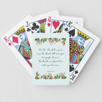 Cool Christian Art - Luke 11:13 Poker Deck