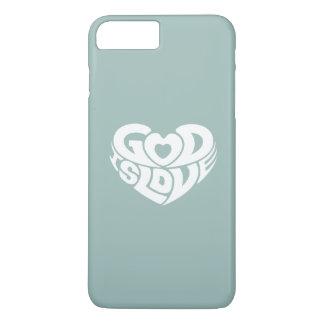 Cool Christian God Is Love Bible Verse Scripture iPhone 8 Plus/7 Plus Case