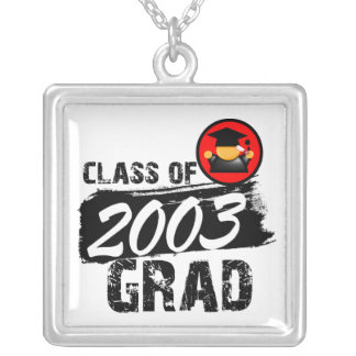 Cool Class of 2003 Grad Pendants