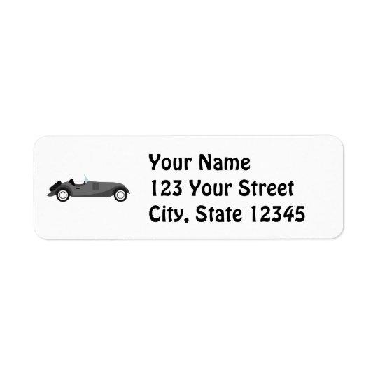 Cool Classic Car Return Address Label