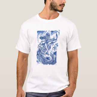 Cool Classic Japanese Demon tattoo T-Shirt