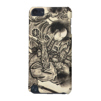 Cool classic vintage japanese samura demon fight iPod touch 5G case