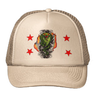 Cool Cobra Trucker Hat