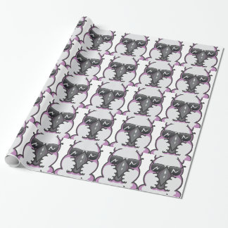 Cool cockatoo wrapping paper