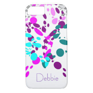 Cool Colorful Bubble Splash | Personalized iPhone 8/7 Case