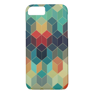 Cool Colorful Cubes Geometric Pattern 5 iPhone 8/7 Case