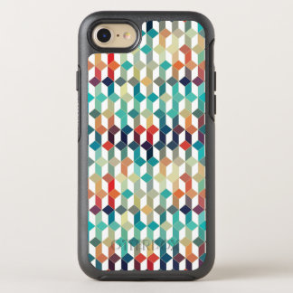 Cool Colorful Cubes Modern Geometric Pattern OtterBox Symmetry iPhone 8/7 Case
