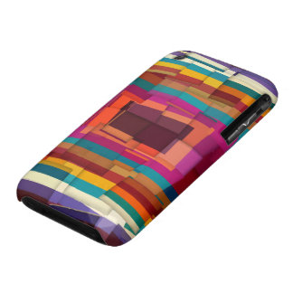 Cool colorful modern cubism Case-Mate iPhone 3 cases