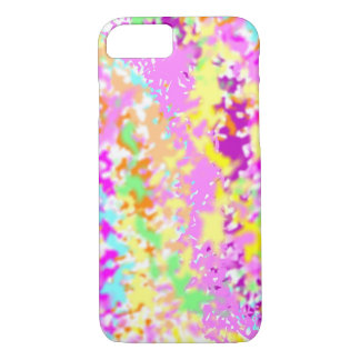 Cool Colorful Pastel Paint Splatter iPhone 8/7 Case