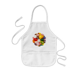 Cool colorful sweet Easter Jelly Beans Candy Kids Apron