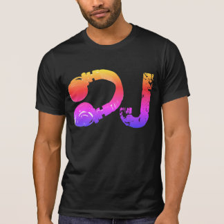 cool & colorful tee_stamp for the DJ T-Shirt
