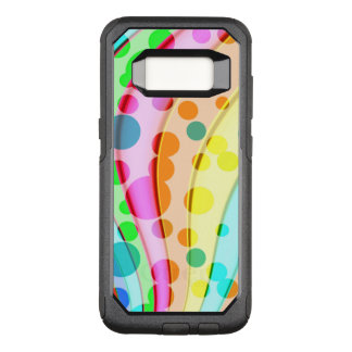 Cool Colorful Wavy Pattern OtterBox Commuter Samsung Galaxy S8 Case