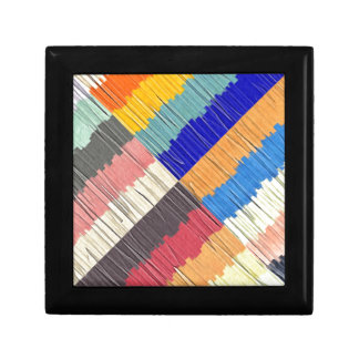 Cool Colors Collage Gift Box