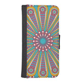 Cool colourful Boho Mandala iPhone SE/5/5s Wallet Case
