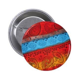 Cool Colourful Fabric button