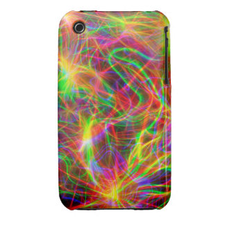 cool colourful fractal iPhone 3 cover