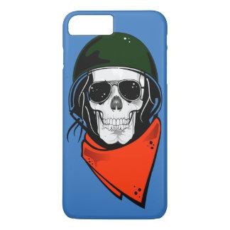 Cool Combat Skull iPhone 7 Plus Case