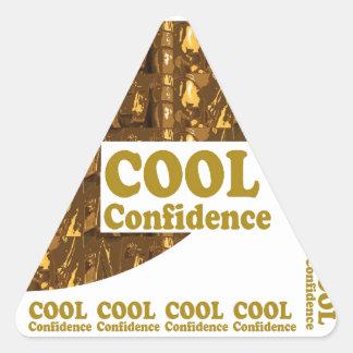 COOL Confidence : Motivation  Professional Sports Sticker