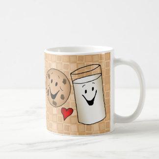 Cool Cookies and Milk Friends Cartoon Mug