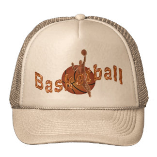 Cool Copper Basketball Flat Bill Hats