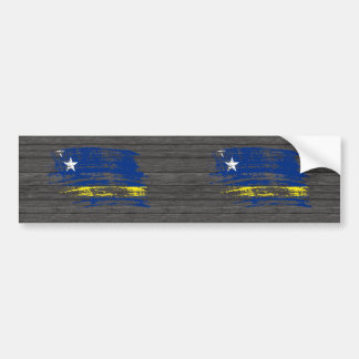 Cool Corazon flag design Bumper Sticker