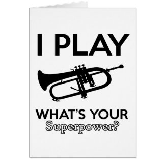cool cornet design card