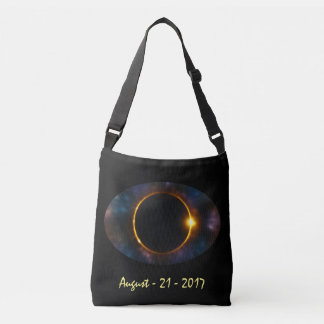 Cool Cosmic Eye 2017 Total Solar Eclipse Crossbody Bag