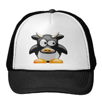 Cool cow trucker hat
