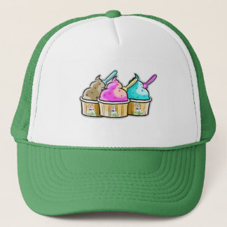 cool cow ice cream trucker hat