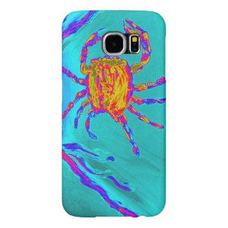 Cool Crab Undersea Art Samsung Galaxy S6 Cases